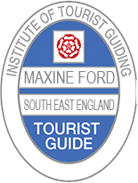 Blue Badge Tour Guide Maxine Ford